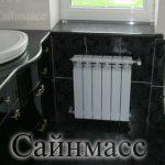 Установка радиатора отопления в Киеве